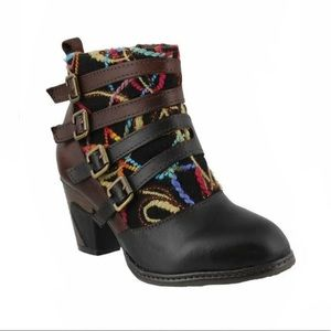 L'Artiste by Spring Step Redding Leather booties